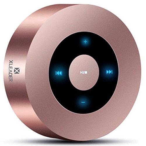 XLEADER SoundAngel (2 Gen) 5W Touch Bluetooth Speaker with Waterproof Case, 15h Music,...