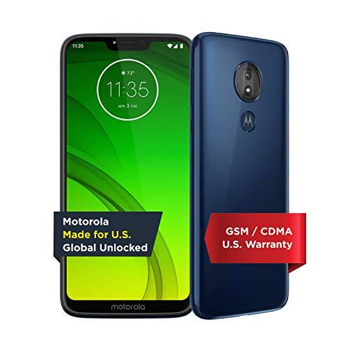 Motorola Moto G7 Power - Unlocked - 32 GB - Marine Blue (US Warranty) - Verizon, AT&T,...