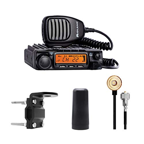 Midland - MXT400VP3, MicroMobile Bundle - MXT400 Two-Way Radio w/ 8 Repeater Channels &...
