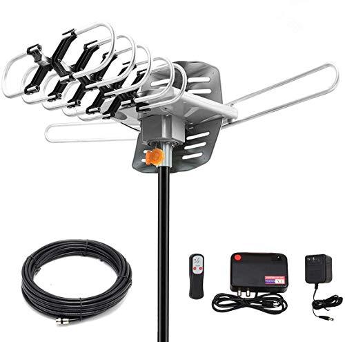HDTV Digital Antenna -150 Miles Range w/ 360 Degree Rotation Wireless Remote -...
