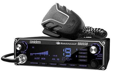 Uniden BEARCAT 980 40- Channel SSB CB Radio with Sideband NOAA WeatherBand,7- Color...