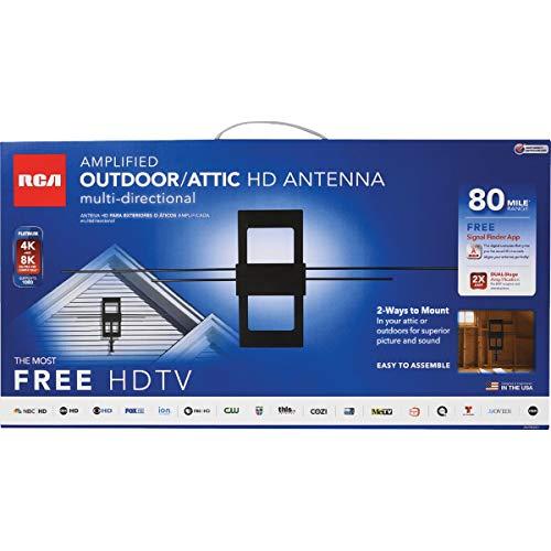 RCA ANT850E ANT850E Amplified Outdoor/Attic Antenna