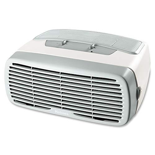 Holmes Desktop HEPA-Type Filter & Optional Ionizer, Air Purifier, White