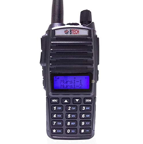 BTECH MURS-V1 MURS Two-Way Radio, License Free Two-Way Radio for Manufacturing, Retail,...