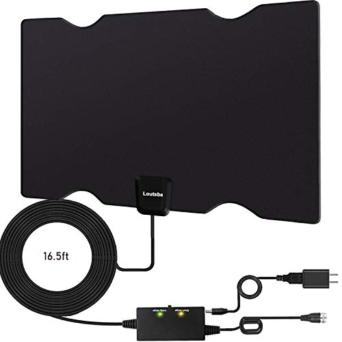 Loutsbe Amplified HD Digital TV Antenna,Indoor HDTV Digital Antenna 80...