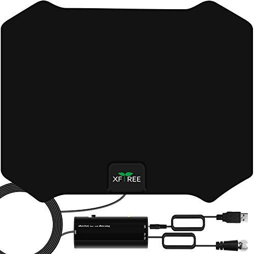 TV Antenna, Amplified HDTV Indoor HD Digital TV Antenna 200 Miles Range Signal Booster...