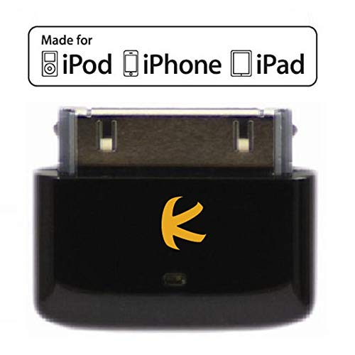 KOKKIA i10s (Black) Tiny Bluetooth iPod Transmitter for iPod/iPhone/iPad with...