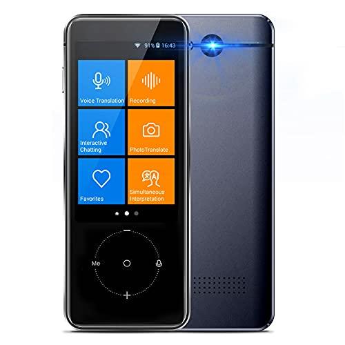 Language Translator Device, 107 Languages Two Way Portable Instant Voice Translator...