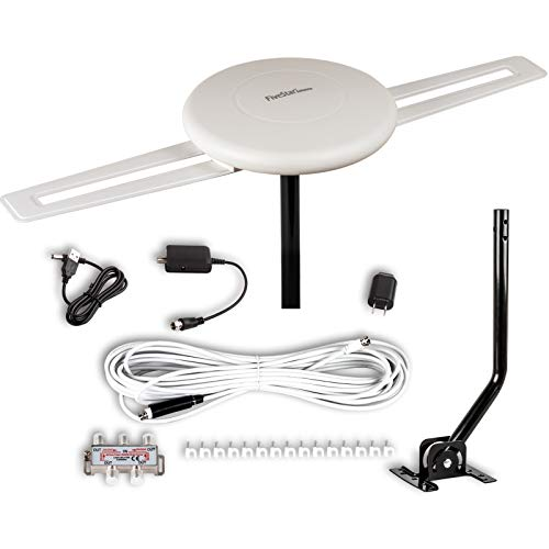 Five Star [Newest 2020] HDTV Antenna - 360° Omnidirectional Amplified Outdoor TV Antenna...