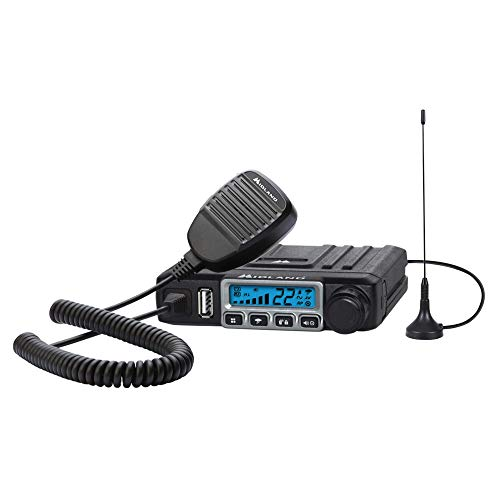 Midland - MXT115, 15 Watt GMRS MicroMobile Two-Way Radio - 8 Repeater Channels, 142...