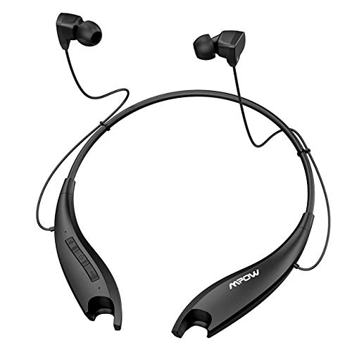 Mpow Jaws Upgraded Gen5 Bluetooth Headphones 18H Playtime, V5.0 Wireless...