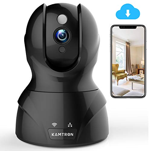 Wireless Security Camera with Two-way Audio - KAMTRON 1080P HD WiFi...