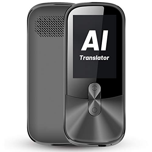 ANFIER Voice Translator Device with 2.4 inch Touchscreen Two-Way Electronic Translator...
