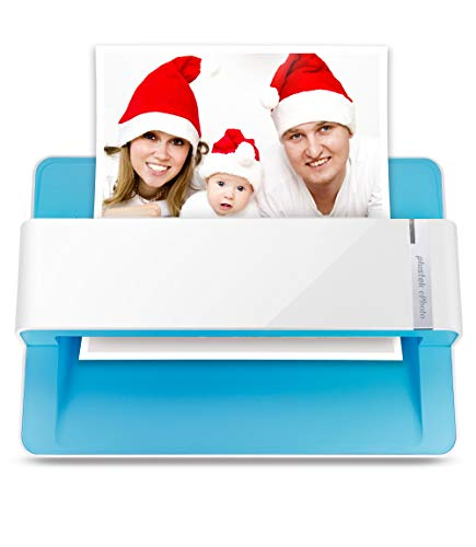 Plustek Photo Scanner - ephoto Z300, Scan 4x6 Photo in 2sec, Auto Crop and...