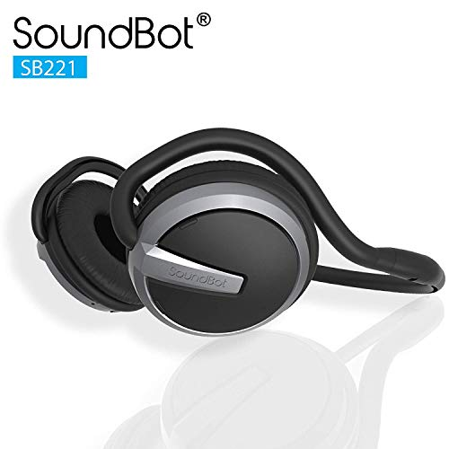 SoundBot¨ SB221 HD Wireless Bluetooth 4.0 Headset Sports-Active Headphone for 20Hrs Music...
