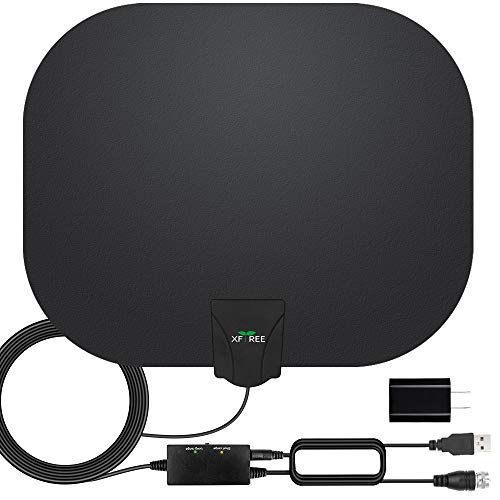 TV Antenna, Amplified HD Indoor Digital HDTV Antenna 200 Miles Range with Amplifier...