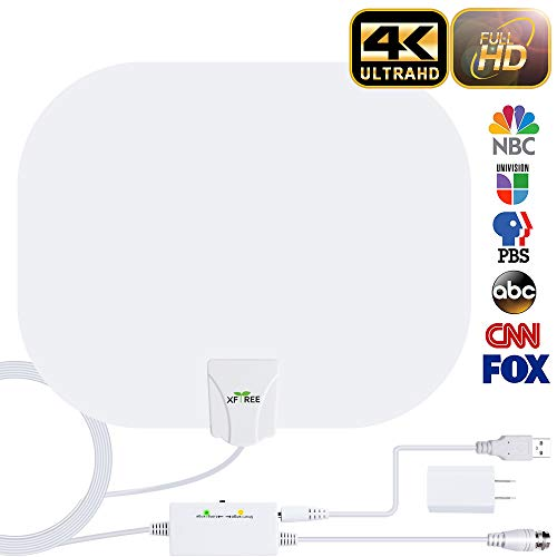 HDTV Antenna, 2020 New Indoor Digital HDTV Antenna,130+ Miles Range with Amplifier Signal...