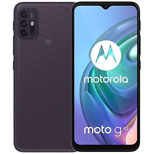 Moto G10 XT2127-2, 4G LTE, International Version (No US Warranty), 128GB, 4GB, Aurora Grey...