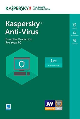 Kaspersky Anti-Virus 2017   1 Device   1 Year   Download [Online Code]