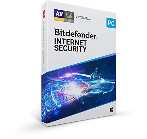 Bitdefender Internet Security - 3 Devices   1 year Subscription   PC Activation Code by...