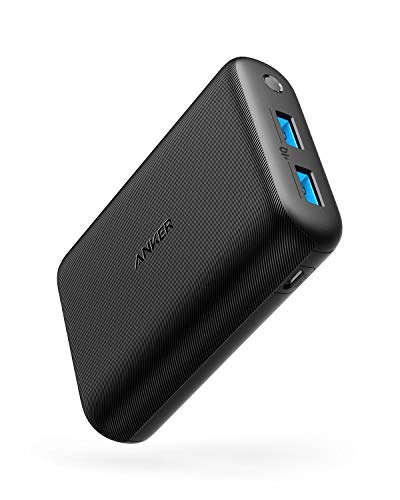 Anker PowerCore 15000 Redux, Compact 15000mAh 2-Port Ultra-Portable Phone Charger Power...