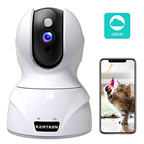 Wireless Security Camera,KAMTRON HD WiFi Security Surveillance IP Camera...