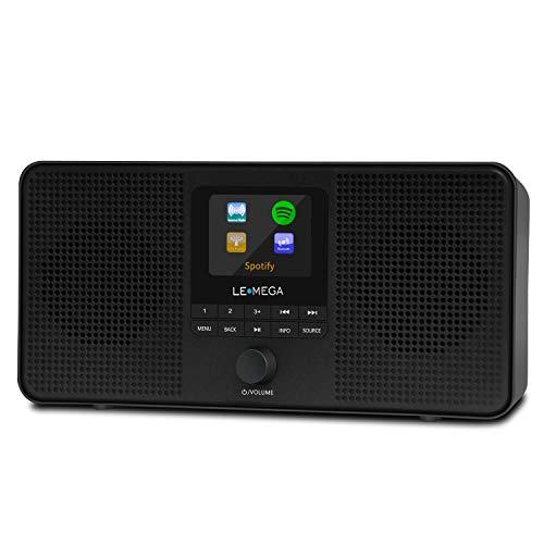 LEMEGA IR4 Stereo Portable Internet Radio,FM Digital Radio,WIFI,Spotify...