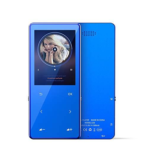 Portable MP3 Player 16GB with Bluetooth 4.2 FM Radio Pedometer, HiFi Lossless Music Player...