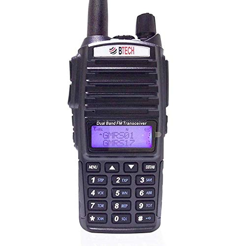 BTECH GMRS-V1 GMRS Two-Way Radio, GMRS Repeater Capable, with Dual Band Scanning Receiver...