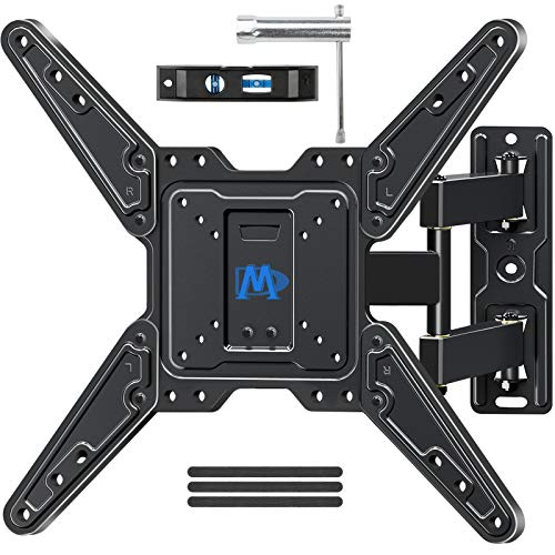 Mounting Dream Full Motion TV Wall Mount for Most 26-55 Inch TVs, Wall Mount for TV with...