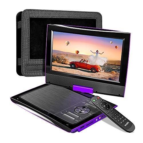 SUNPIN 2020 New PD969 11' Portable DVD Player for Car with Headrest Mount, Upgraded Remote...