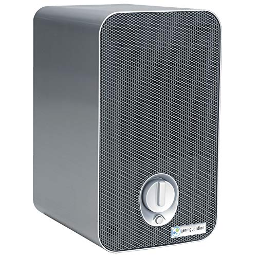 Germ Guardian HEPA Filter Air Purifier with UV Light Sanitizer, Eliminates Germs, Filters...