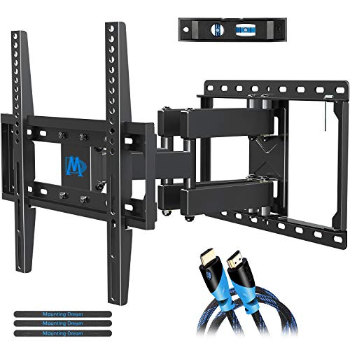 Mounting Dream UL Listed TV Mount TV Wall Mount with Swivel and Tilt for Most 32-55 Inch...