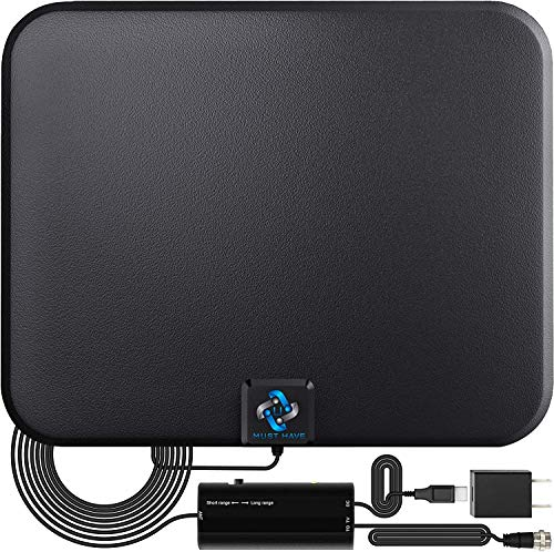 U MUST HAVE Amplified HD Digital TV Antenna Long 180 Miles Range - Support 4K 1080p Fire...
