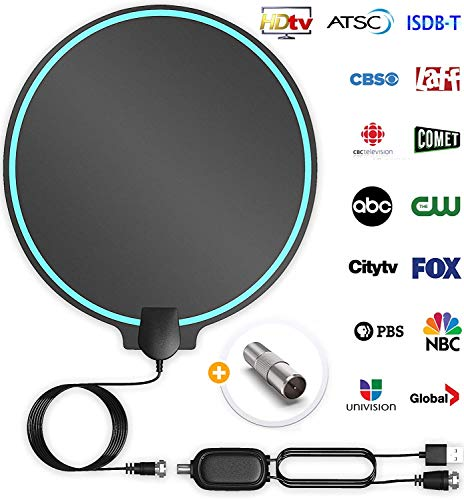 All-New 2020 Indoor HDTV Digital Antenna 4K HD Freeview Life Local Channels...