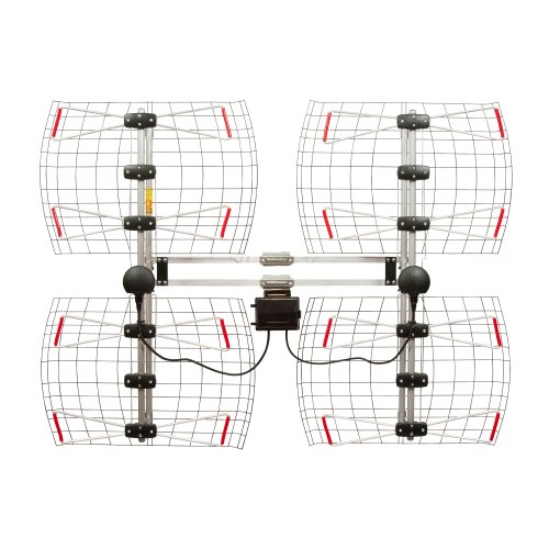 Antennas Direct 8-Element Bowtie TV Antenna, 70 Miles Range, Multi-directional, Indoor,...