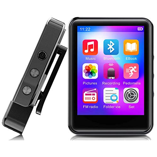 MP3 Player,32GB MP3 Player with Bluetooth,Portable Music Player with FM...