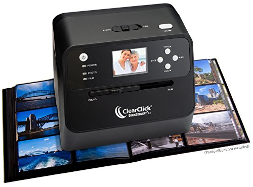 ClearClick 14 MP QuickConvert 2.0 Photo, Slide, and Negative Scanner - Scan...