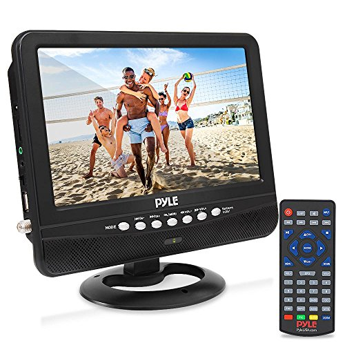 9 Inch Portable Widescreen TV - Smart Rechargeable Battery Wireless Car Digital Video...