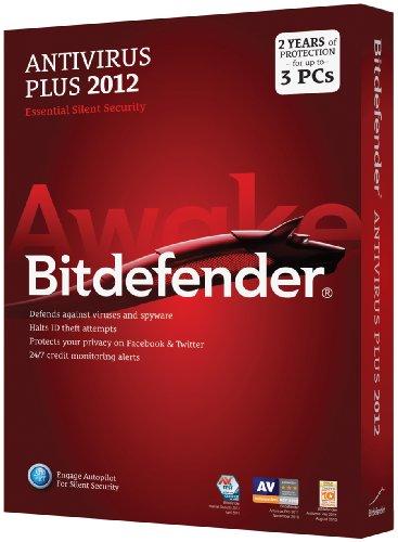 Bitdefender AntiVirus Plus 2012 Value M2 3Pc/2 Years
