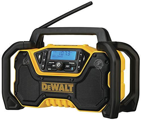DEWALT DCR028B 12V/20V MAX Bluetooth Cordless Jobsite Radio, Tool Only