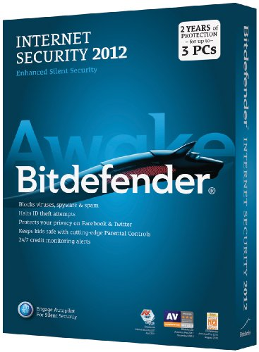 Bitdefender Internet Security 2012 Value M2 3Pc/2 Years [Old Version]