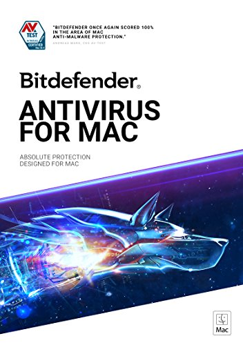 Bitdefender Antivirus for Mac - 1 Device | 1 year Subscription | Mac...