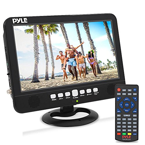 10 Inch Portable Widescreen TV - Smart Rechargeable Battery Wireless Car Digital TV Tuner,...
