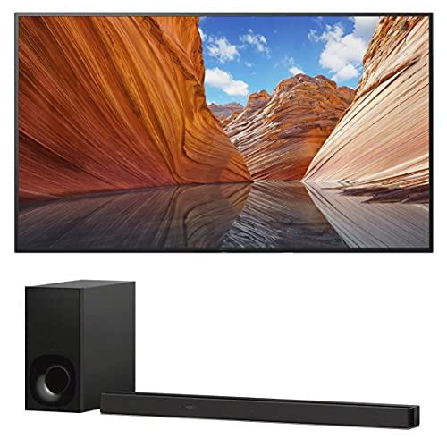 Sony KD50X80J 50' 4K High Dynamic Range Smart TV with a Sony HT-Z9F 3.1 Channel Bluetooth...