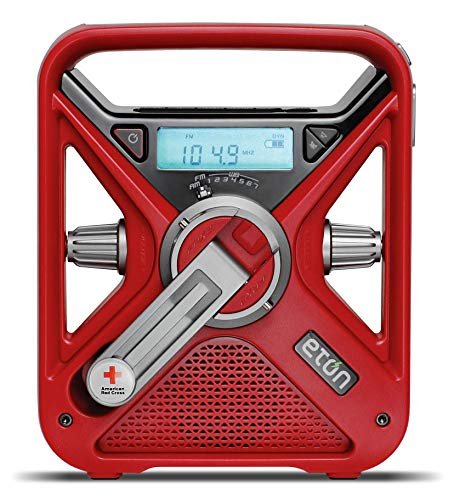 American Red Cross Emergency NOAA Weather Radio with USB Smartphone Charger, LED...