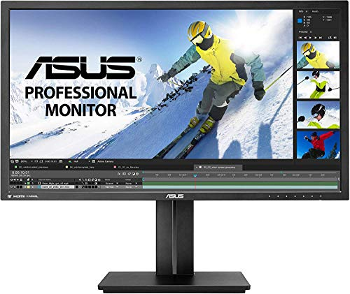 ASUS PB287Q 28' 4K/ UHD 3840x2160 1ms DisplayPort HDMI Ergonomic Back-lit LED...